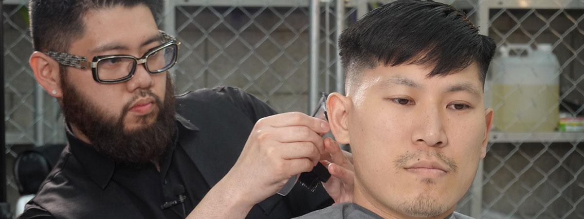 男らしさを極める短髪メンズカットヘアサロン By Showa ご予約方法紹介イメージ