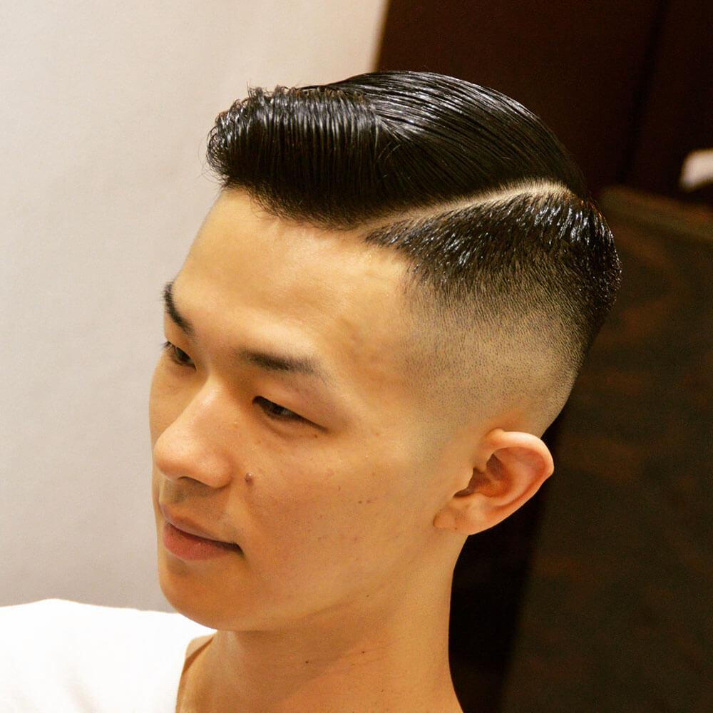 髪型 フェード メンズ