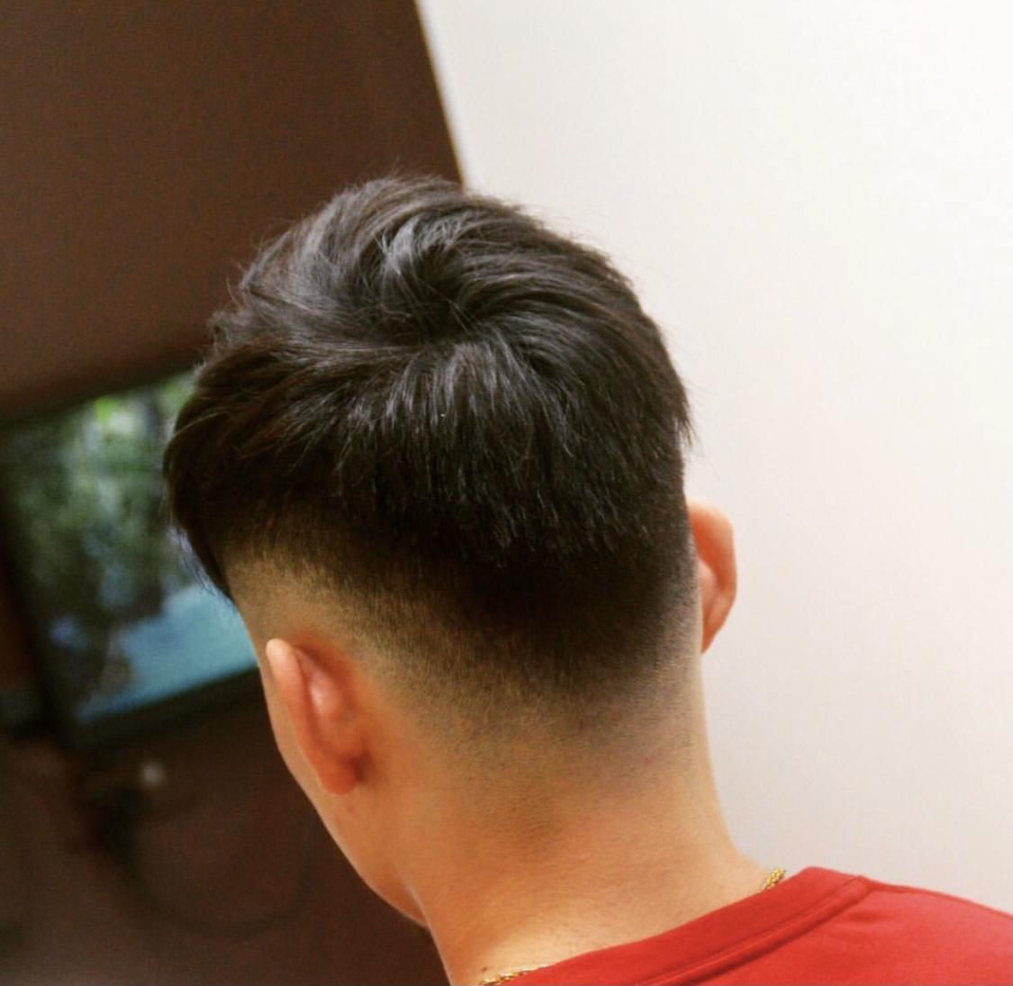 スキンフェードの髪型