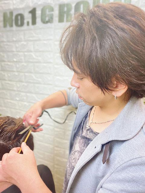 短髪メンズ美容室(床屋)ナンバーワンクラブ By Showa 大和市上和田店 中島 信介